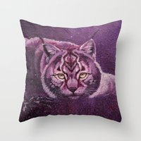 The Universe In Your Eye… Throw Pillow