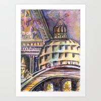 St. Marks Cathedral In V… Art Print