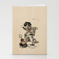 How To Trick A Zombie Stationery Cards