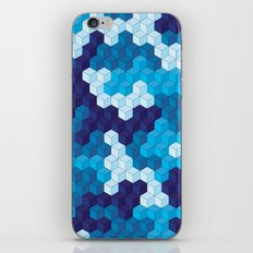 CUBOUFLAGE BLUE iPhone & iPod Skin
