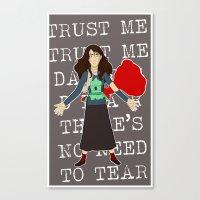 The Unmaking of Tamara Canvas Print