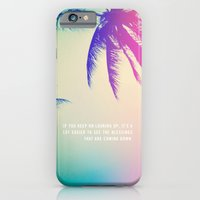 iPhone & iPod Case featuring Keep on Looking up. by Goldfish Kiss