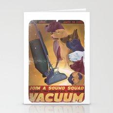 Sound Squad Anti-Vacuum … Stationery Cards