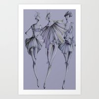 Fashion_Illustration Art Print