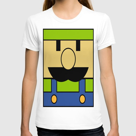 Minimal Luigi T-shirt