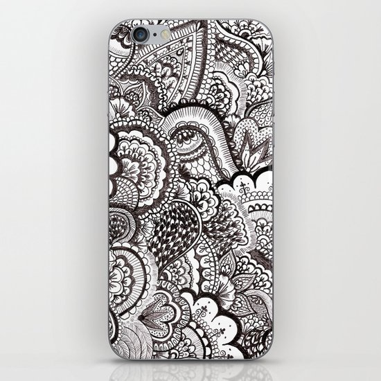 her hair iPhone & iPod Skin