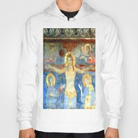 Christ On The Cross Fres… Hoody