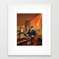 Clark Framed Art Print