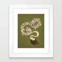 Unleashed Imagination Framed Art Print