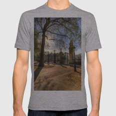 Canada Gate Green Park London Mens Fitted Tee Athletic Grey SMALL