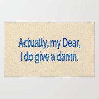 Actually, My Dear Rug