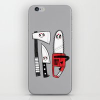 Happy Slasher Pals iPhone & iPod Skin