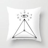 Freemasonry Throw Pillow