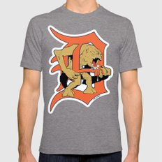 Detroit Rancors Mens Fitted Tee Tri-Grey SMALL