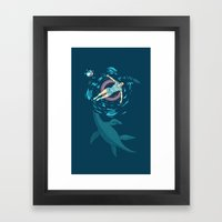 Cryptosoaking Framed Art Print