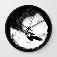 To Boldly Go... Wall Clock