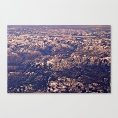 Airplane View Canvas Print
