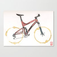 Coffee Wheels #12 Canvas Print