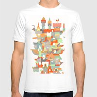 Structura 8 Mens Fitted Tee White SMALL