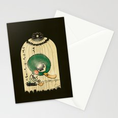 Chinese Idiom: Sitting Duck 插翅难飞  Stationery Cards