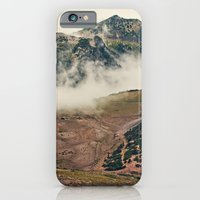 iPhone Cases featuring Mountain Hike by Kurt Rahn