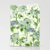 Soft Floral Stationery Cards