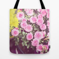 Vintage - Flower Pots Tote Bag