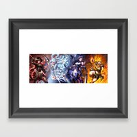 RWBY Framed Art Print