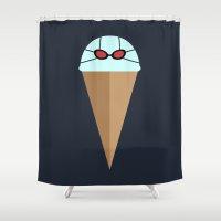 Freeze Mountain Shower Curtain