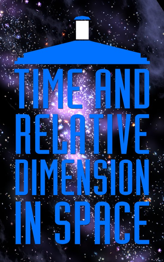 Doctor Who: The Tardis! Time and Relative Dimension in Space Art Print
