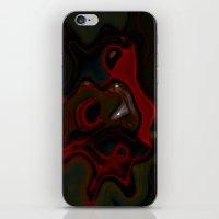 Smoke Dance iPhone & iPod Skin