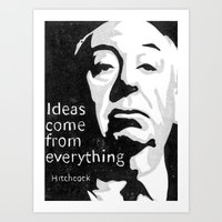 Ideas come from everything Art Print