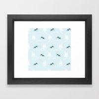 Playful Sea Framed Art Print