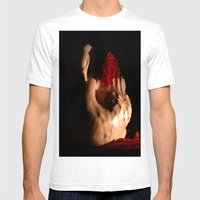 Dark Romance Mens Fitted Tee White SMALL