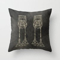 AT-AT Throw Pillow