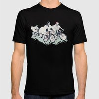 Ghost Race Mens Fitted Tee Black SMALL