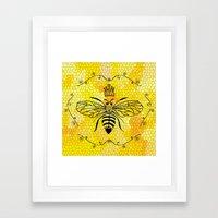 Queen Bee... Framed Art Print