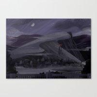 Gray Gloom Canvas Print