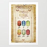 Legend Of Zelda - Tingle… Art Print