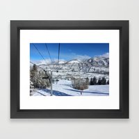 Summit Express Framed Art Print