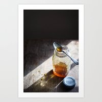 Sunlight And Honey - Kit… Art Print