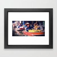 Mercato Framed Art Print