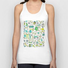to and fro Unisex Tank Top