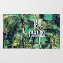 TAKE ME BACK TO PARADISE II  Rug