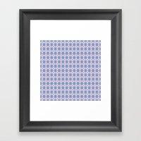 Heart Flowers Rose Framed Art Print