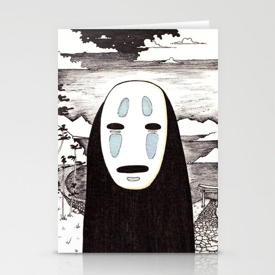 No Face Stationery Card