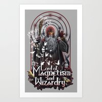 Lord Of MAgnetism And Wi… Art Print