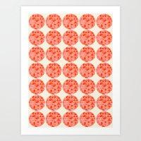 Tri Dots 2 Art Print
