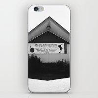 Mid-Century Shadow iPhone & iPod Skin