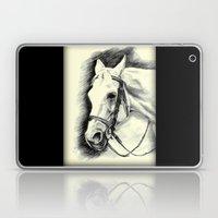 Horse-portrait Laptop & iPad Skin
